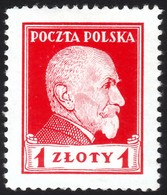 ~~~ Poland Pologne 1924 - President Wojciechowski - Mi. 212 * MH  ~~~ - Ongebruikt