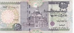 BILLETE DE EGIPTO DE 20 POUNDS DEL AÑO 2006  (BANKNOTE) - Egipto