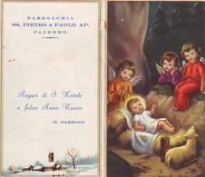 Calendarietto Tascabile Parrocchia Ss.pietro E Paolo Ap. - Palermo 1969 - Calendars