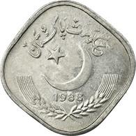 Monnaie, Pakistan, 5 Paisa, 1988, TTB, Aluminium, KM:52 - Pakistan