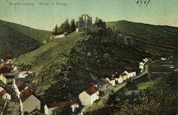 Luxemburg, BRANDENBOURG, Ruine Et Village (1907) Postcard - Postcards