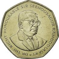 Monnaie, Mauritius, 10 Rupees, 2000, SUP, Copper-nickel, KM:61 - Mauritius