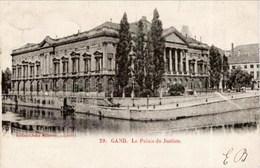 GAND-GENT - Palais De Justice - Carte Précurseur - Oblitération De 1902 - Gent