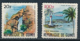 °°° GUINEE - Y&T N°260 + 62 PA - 1966 MNH °°° - Costa D'Avorio (1960-...)