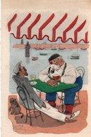 93Maj   Illustrateur Edouard Collin Le Pastis Apero Sur Le Port - Illustrateurs & Photographes