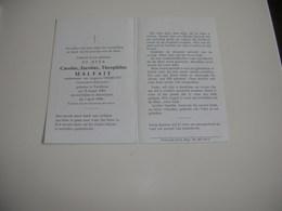 Rijkswachter Carolus Malfait (Turnhout 1901-Antwerpen 1984) - Images Religieuses