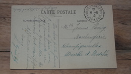CPA Convoyeur Fauté ?? A CHARMES A RAMBERVILLERS …... … PHI.......2615 - 1877-1920: Période Semi Moderne