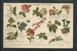 Langage Des Fleurs.  Série  9001. 2 Scans. - Fleurs
