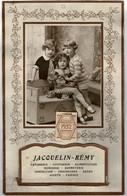 1932 Calendrier Publicitaire  Complet, Poche Porte-lettre.Pub D'un Magasin Non Situé. Décor 3 Enfants. 24,50/39 Cm - Calendriers