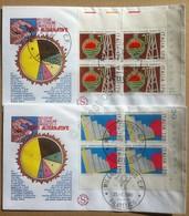 FDC Filagrano Italia 1980 - Quartine AF Riduzione Dei Consumi Energetici - 2 NVG - Francobolli