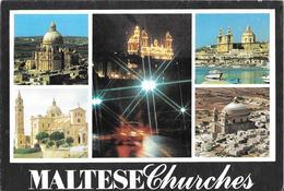 MALTE MALTA - Maltese Churches - Malte