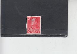 NORVEGIA  1959 - Unificato  388 - Olav V - Norvegia