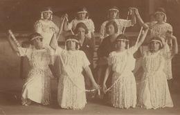 Real Photo  Young Dancers Jeunes Danseuses . Pays De L' Est - Dans