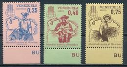 °°° VENEZUELA - Y&T N°674 + 784/85 PA - 1963 MNH °°° - Venezuela