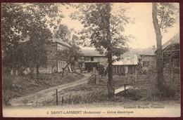 Saint-Lambert Usine électrique  * Ardennes * Saint-Lambert-et-Mont-de-Jeux * Saint Lambert Et Mont De Jeux - Other Municipalities