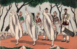 93Maj   Illustrateur Edouard Collin La Gigue Danse Provençale Interdite Sous Henri IV - Autres Illustrateurs