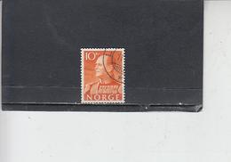 NORVEGIA  1959 - Unificato  390 - Olav V - Norvegia