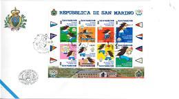 SAN MARINO 2001 - GIOCHI DEI PICCOLI STATI- FDC - FDC