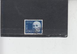 NORVEGIA  1963 - Unificato 459 - Aasen - Letteratura - Norvegia