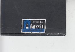 NORVEGIA  1971 - Unificato 584 - Diocesi Oslo - Usati