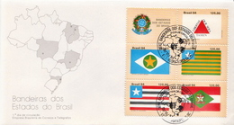 Brazil Set On FDC - Covers