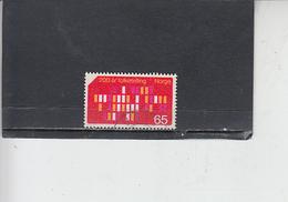 NORVEGIA  1969 - Unificato 556 - Censimento - Norvegia