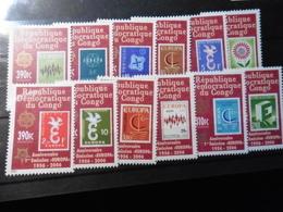 Europa Cept 2006; Kongo; Satz; Gezähnt;50 Jahre Cept; Postfrisch**; Mnh - Europa-CEPT