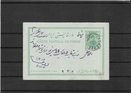 Persia-Iran Old Postal Stationery From Teheran ( Ref.586b ) - Irán
