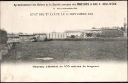 Carte Postale Huyzingen ( Usine Moteur à Gaz A. Bollinckx ) Affranchie Avec Un Timbre Préoblitéré Bruxelles En 1904 - Beersel