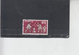 NORVEGIA  1968 - Unificato 518 - Artigianato - Norvegia