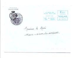 LETTRE DE MAIRIE DU HAVRE SEINE MARITIME - Marcophilie (Lettres)