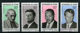 TCHAD- P.A Y&T N°56 à 59- Oblitérés - Tchad (1960-...)