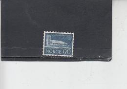 NORVEGIA  1967 - Unificato 514 - Missione - Norvegia