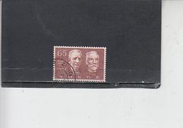 NORVEGIA  1968 - Unificato 532 - Norel - Pace - Norvegia