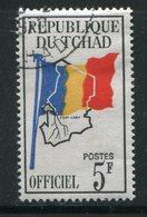 TCHAD- Service Y&T N°3- Oblitéré - Tchad (1960-...)
