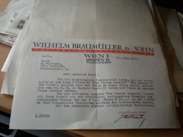 Wilhelm Braumuller Sohn Wien  Universitats Buchhandlung 1932 - Autriche