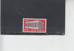 NORVEGIA  1969 - Unificato 538 - Europa - Norvegia