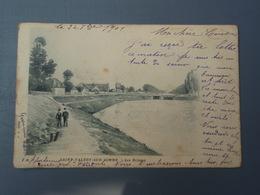 Cpa  Saint-VALERY-SUR-SOMME Les Ecluses 1901 - Saint Valery Sur Somme