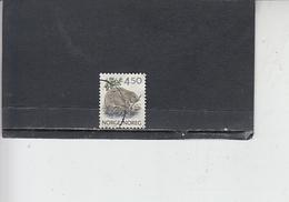 NORVEGIA  1990 - Unificato 996 - Fauna - Castoro - Norvegia