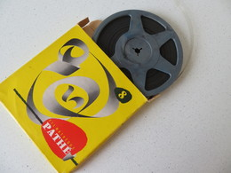 "1955 Film 8mm Pathé ""Laurel Et Hardy Cambrioleurs"" - Other Collections"