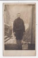 CARTE PHOTO MILITARIA Militaire Posant Campagne D'Alsace 1914/15 - Personaggi