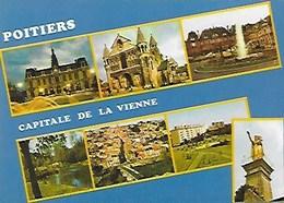 POITIERS CAPITALE DE LA VIENNE (86) CARTE VIERGE - Poitiers