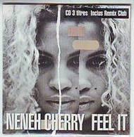 NENEH  CHERRY  °°  FEEL IT   CD SINGLE 3 TITRES - Musique & Instruments