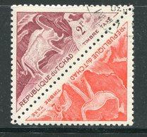 TCHAD- Taxe Y&T N°27 Et 28- Oblitérés - Tchad (1960-...)