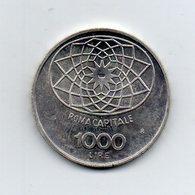 """ITALIA - 1970 - 1000 Lire """"Roma Capitale"""" - FDC - Argento 835 - Peso 14,6 Grammi - (MW2194) - 1946-… : Repubblica"""