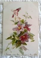 Très Jolie CPA Illustrée C. KLEIN (signature) Grappe De Fleurs Mauves - Raphaël Tuck - Klein, Catharina