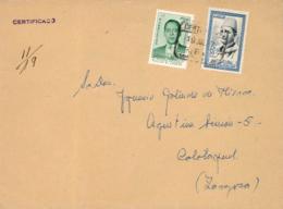 Marruecos. Carta Certificada De Tetuán A Calatayud, 19/7/1957. Postal History. - Spaans-Marokko