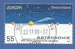 Deutschland / Germany  2009  Mi.Nr. 2732 , EUROPA CEPT - Astronomie - Gestempelt / Used / (o) - 2009