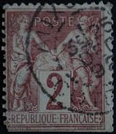 -Sage N°85  Type Ll  .O. AUXONNE 25 Déc 1892. - 1876-1898 Sage (Type II)