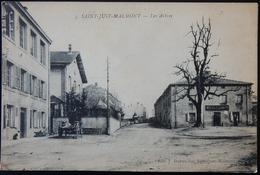 42 CPA SAINT JUST MALMONT LOIRE LES ARBRES 1917 - France